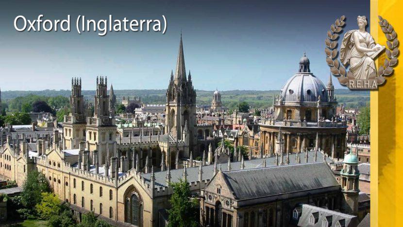 Ciudad de Oxford en Inglaterra
