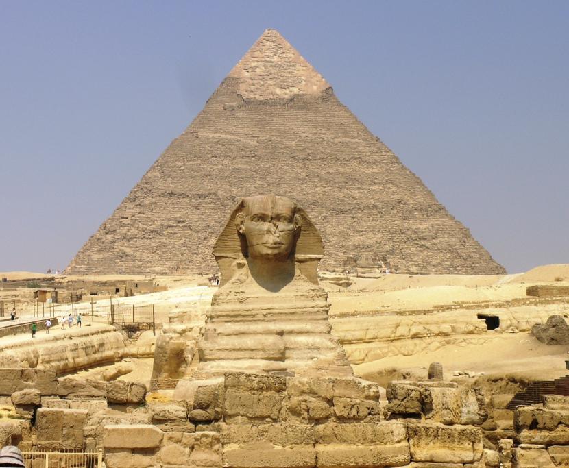 Pirámide de Giza y la Esfinge