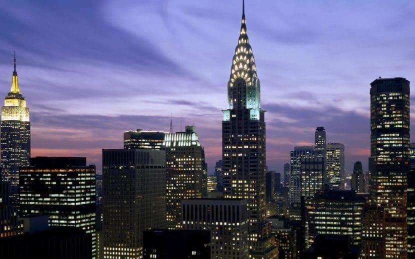Empire State Building al anochecer