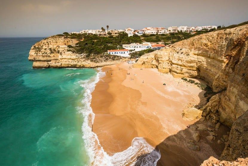 Praia da Marinha and Benagil