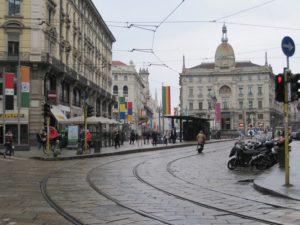 Centro histórico Milán