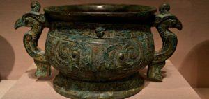 Vasijas de bronce chinas