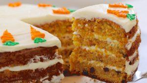 Carrot Cake, el típico pastel inglés