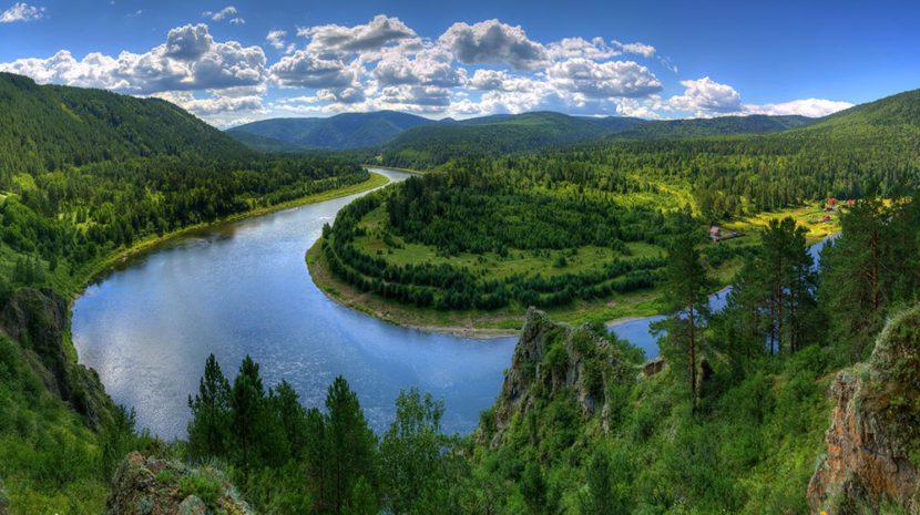 La naturaleza en Rusia