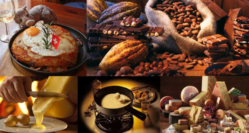 gastronomía Suiza
