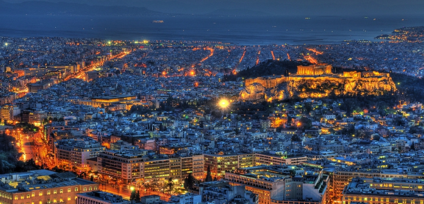 Atenas-de-noche