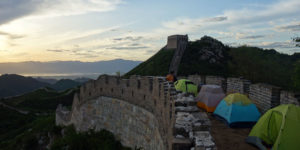 Senderismo por la Gran Muralla
