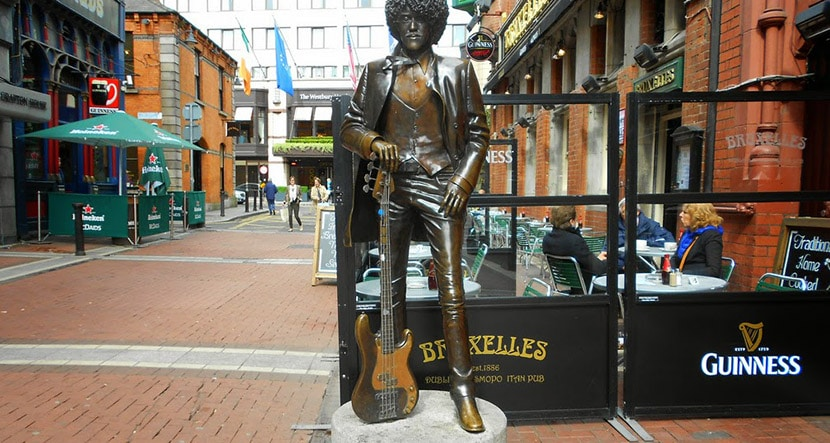 Estatua de Phil Lynott