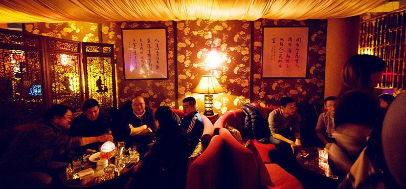 Vida nocturna en Shanghai