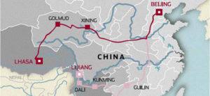 Beijing a Lhasa