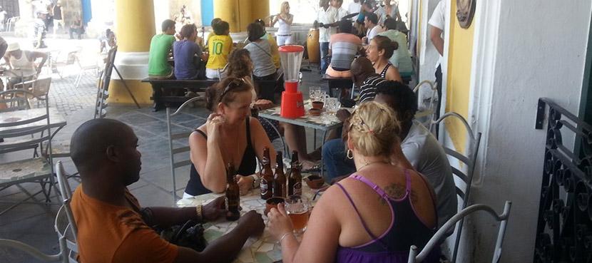Propina en Cuba