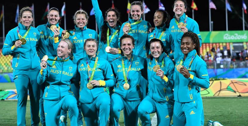 Rugby femenino australiano
