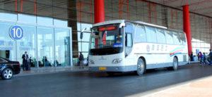 Shuttle bus del aeropuerto de Beijing