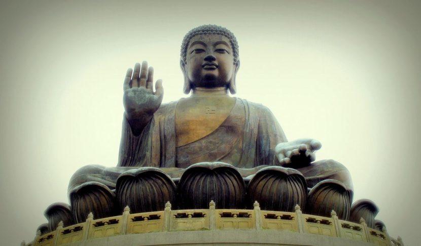 La isla de Lantau El buda gigante