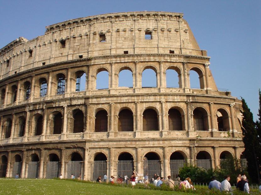 Roma y su coliseo