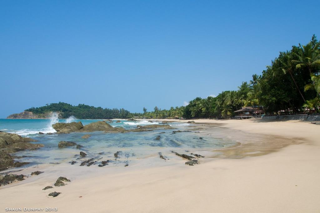 Ngapali Beach en Myanmar