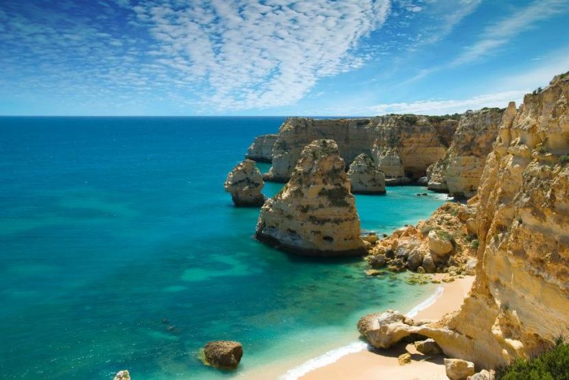 El Algarve en Portugal, destino turístico