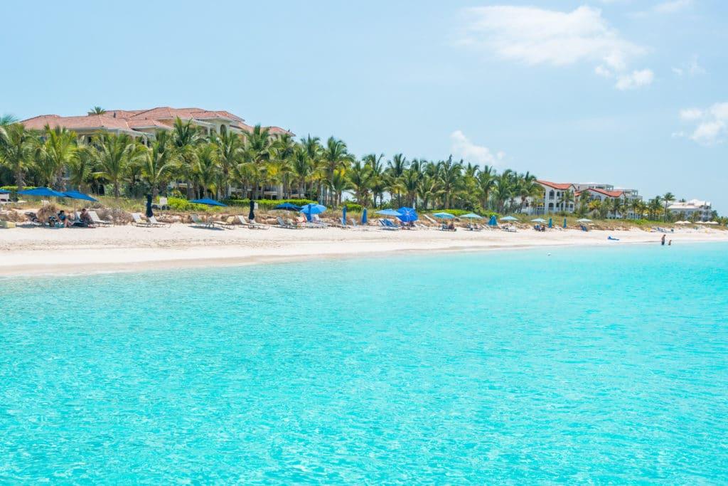 Grace Bay en Turcos y Caicos