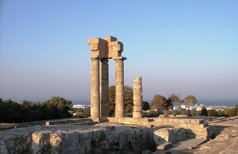 Isla griega de Rodas