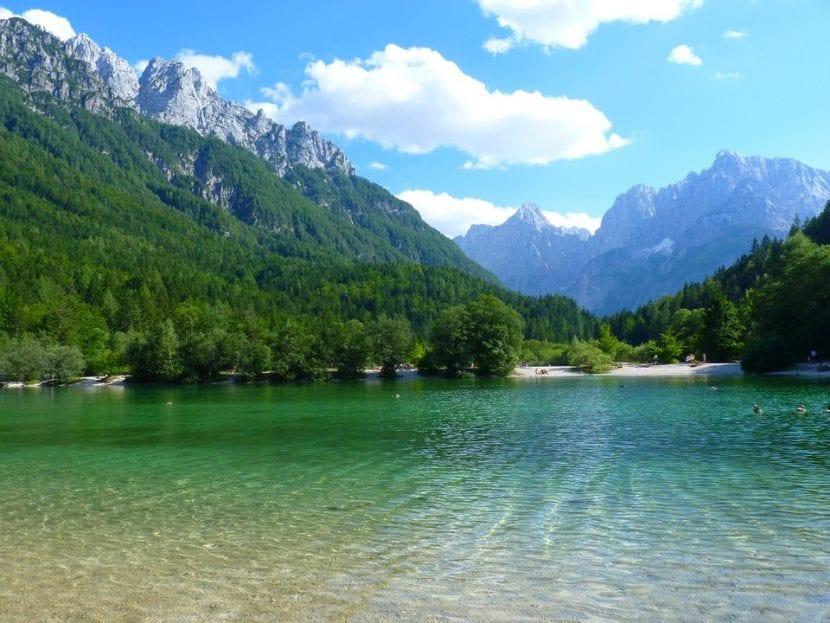 Lago en Eslovenia