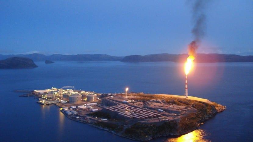 Actividades económicas en Noruega