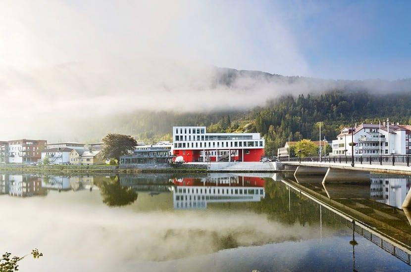 Urbanismo y arquitectura noruega