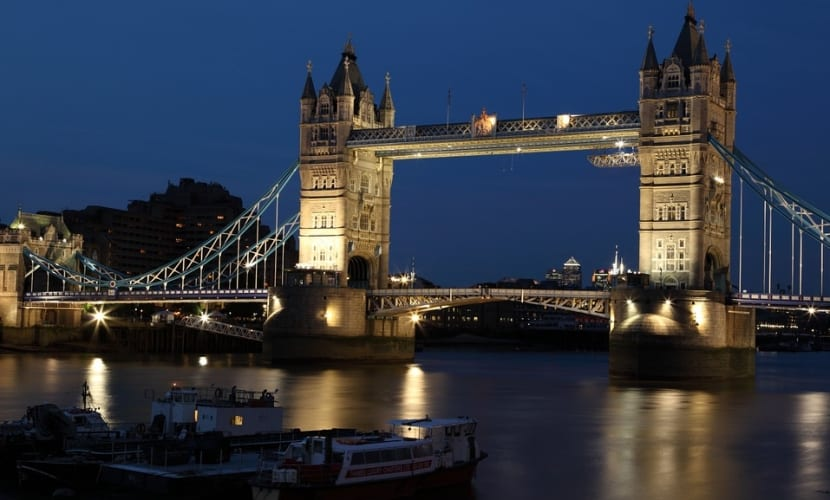 Tower Bridge de Inglaterra