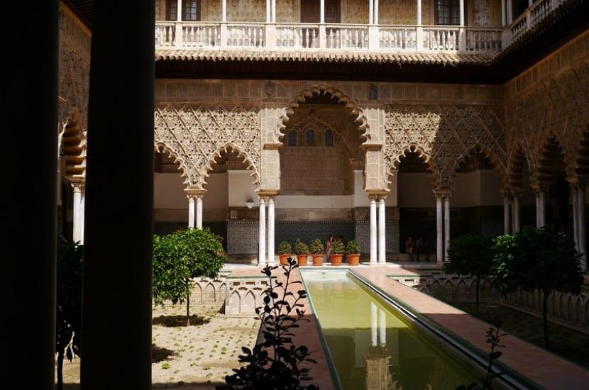 Patio Alcázar de Sevilla