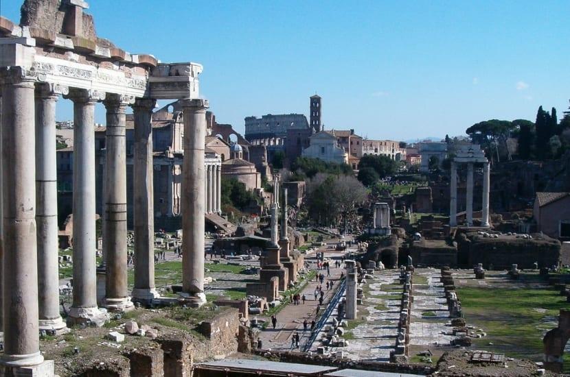 Foro Romano excavaciones