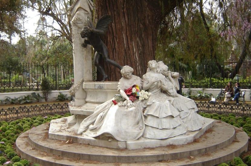 Glorieta en Parque María Luisa