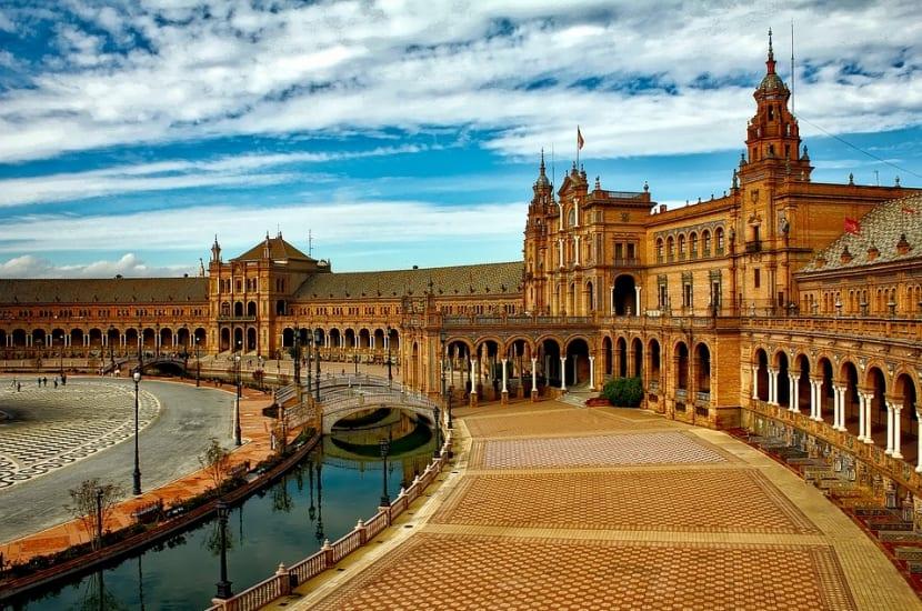 Vista Plaza de España Sevilla