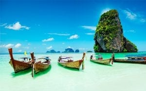 Isla James Bond en Tailandia