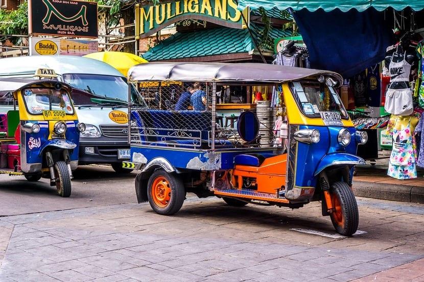 Tuk Tu en Tailandia