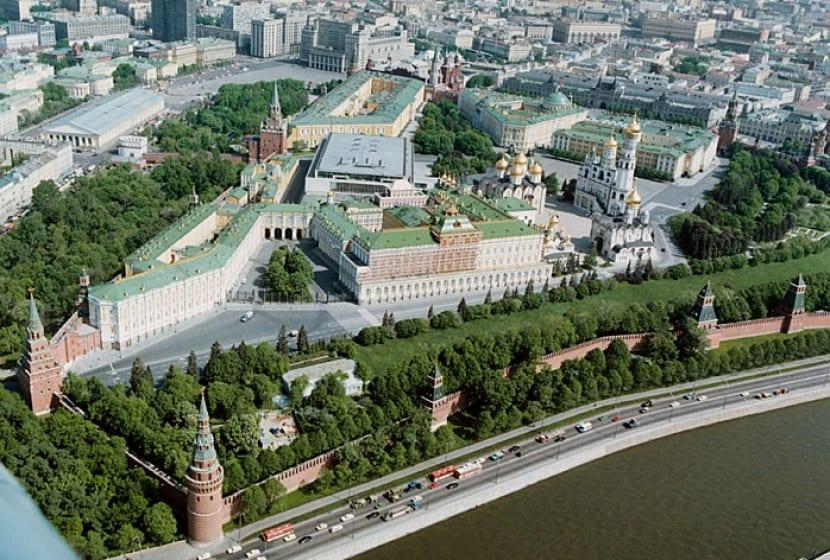Vista Kremlin Murallas