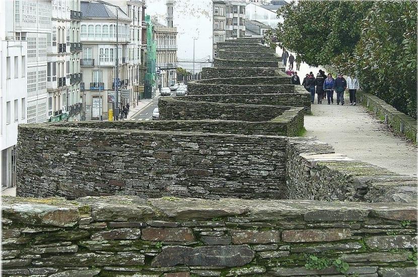 Paseo Muralla de Lugo