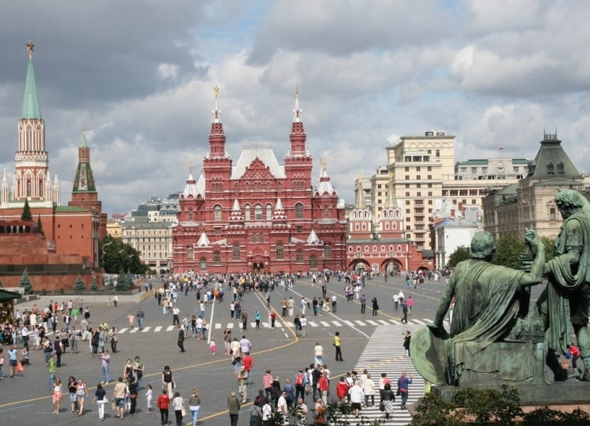 Plaza Roja Moscú