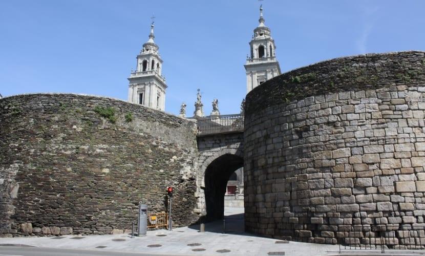 Puertas de las murallas de Lugo