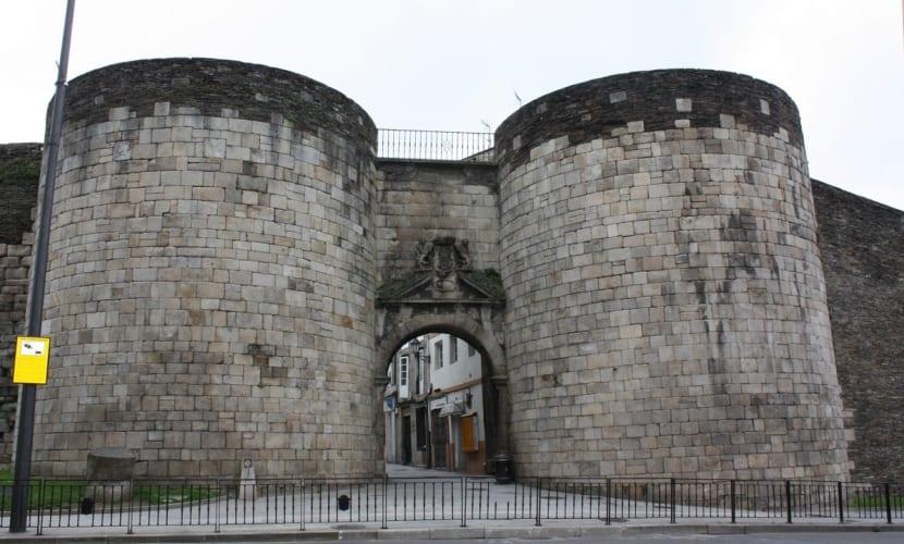 Puerta San Pedro Muralla de Lugo