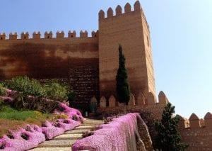 Torre de la Alcazaba en Almería