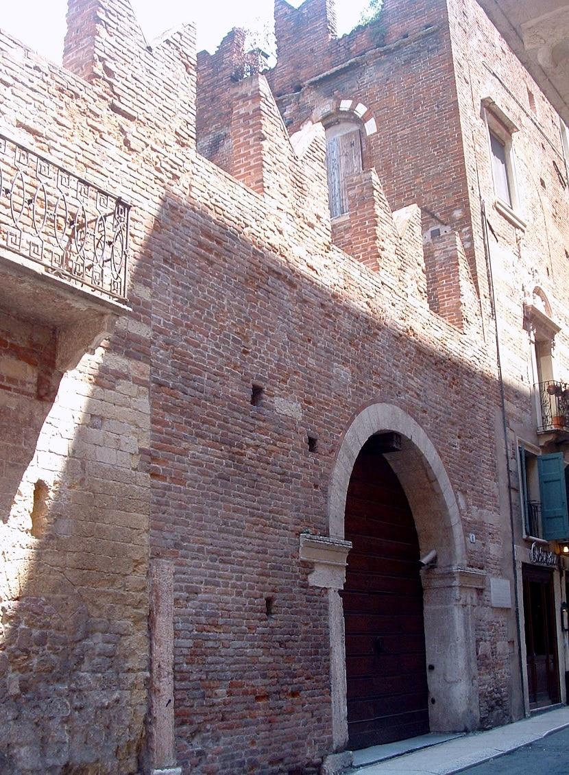 Casa de Romeo en Verona
