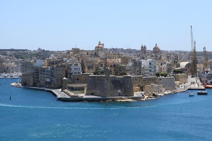Isla Senglea en Malta