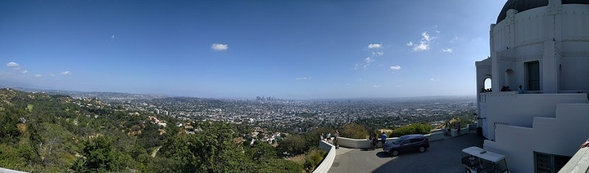 Vistas Observatorio Griffith