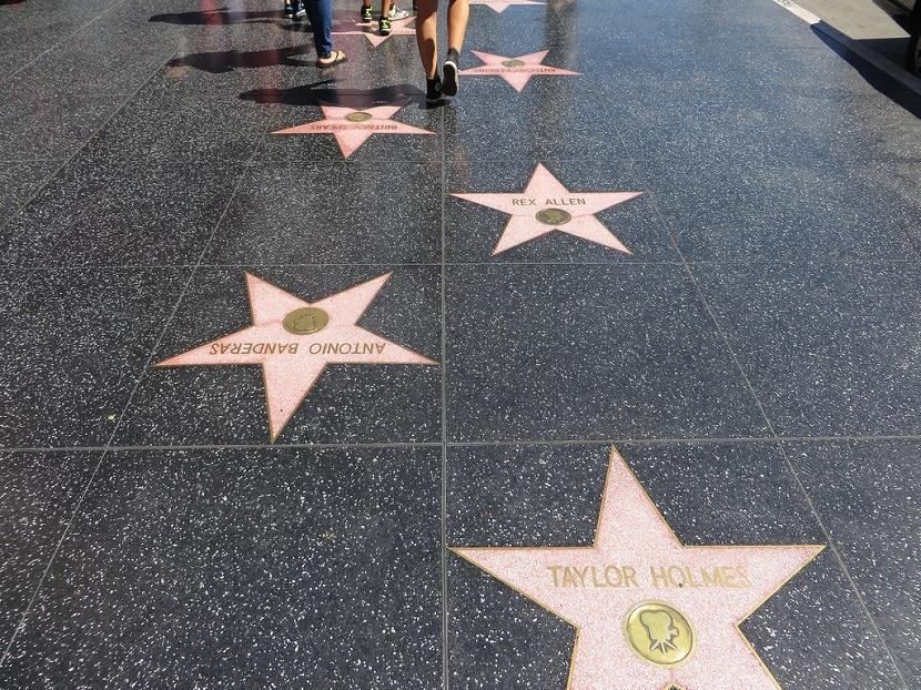 Paseo de la Fama en Los Ángeles