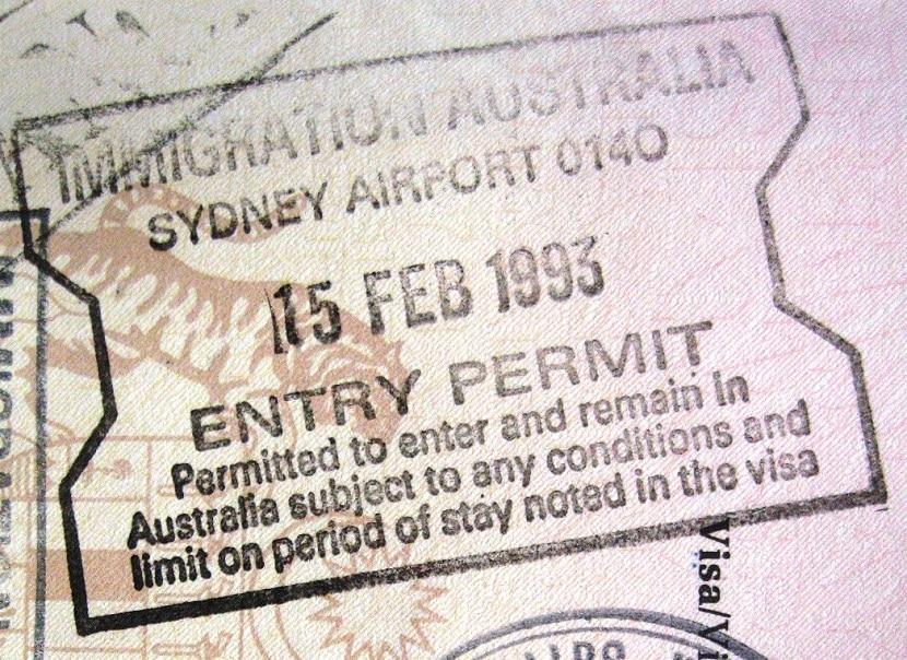 Tipos de visados en Australia