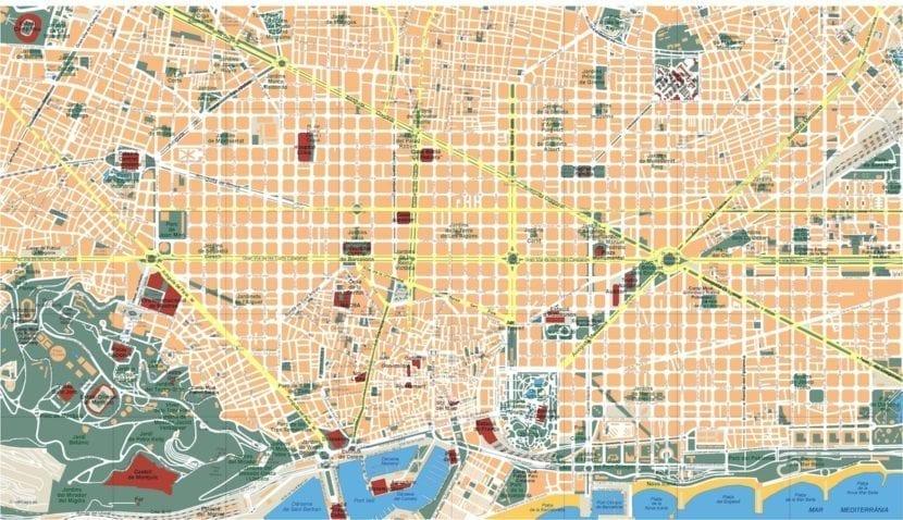 Mapas De Barcelona Todos Los Mapas De Bcn Para Turistas