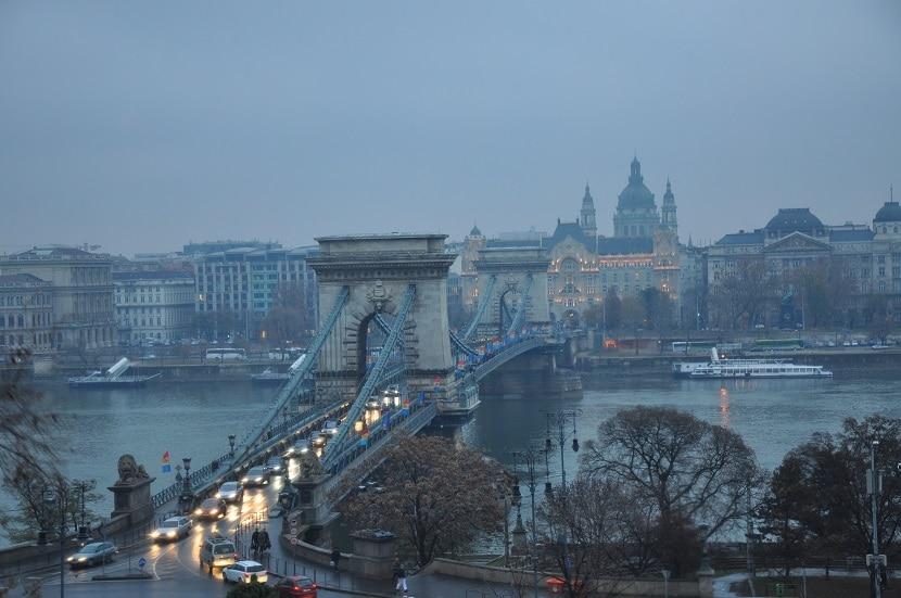 Puentes en Budapest