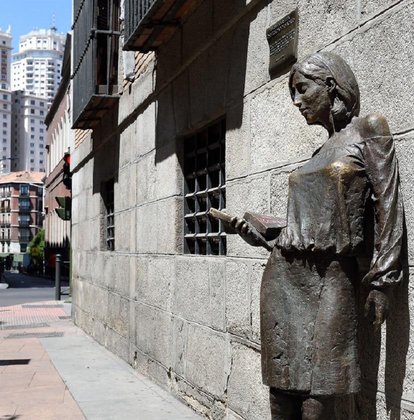 Estatua de Julia en Madrid