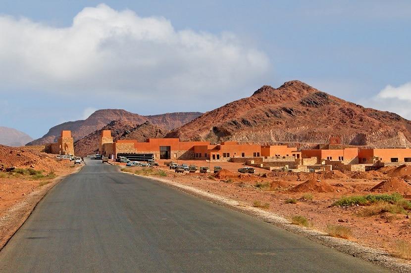 Centro de visitantes Wadi Rum