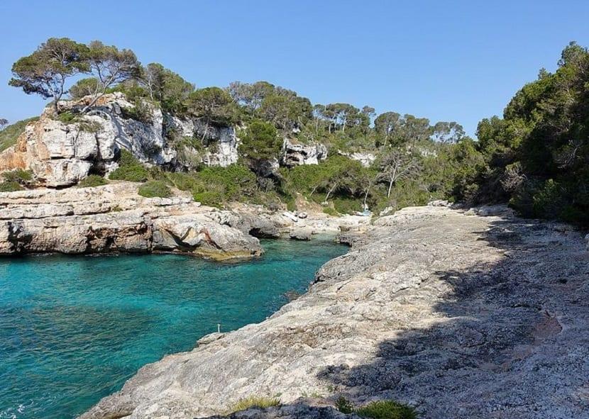 Cala S´Almunia en Mallorca