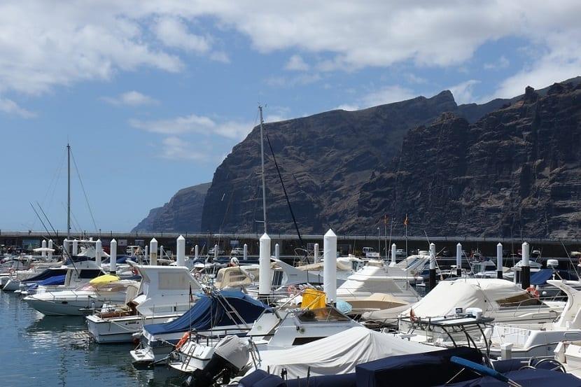 Los Gigantes en Tenerife Puerto